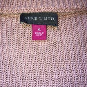 VC sweater Pink Rib knit -  XL
